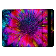 Flowers With Color Kick 3 Samsung Galaxy Tab Pro 12 2  Flip Case