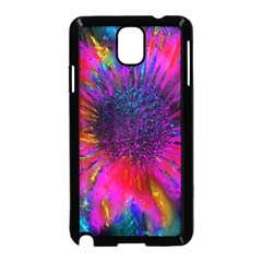 Flowers With Color Kick 3 Samsung Galaxy Note 3 Neo Hardshell Case (black)