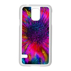 Flowers With Color Kick 3 Samsung Galaxy S5 Case (white)