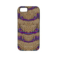 Pearl Lace And Smiles In Peacock Style Apple Iphone 5 Classic Hardshell Case (pc+silicone)