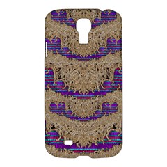 Pearl Lace And Smiles In Peacock Style Samsung Galaxy S4 I9500/i9505 Hardshell Case