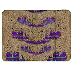 Pearl Lace And Smiles In Peacock Style Samsung Galaxy Tab 7  P1000 Flip Case