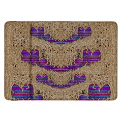 Pearl Lace And Smiles In Peacock Style Samsung Galaxy Tab 8 9  P7300 Flip Case