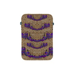 Pearl Lace And Smiles In Peacock Style Apple Ipad Mini Protective Soft Cases