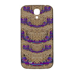 Pearl Lace And Smiles In Peacock Style Samsung Galaxy S4 I9500/i9505  Hardshell Back Case