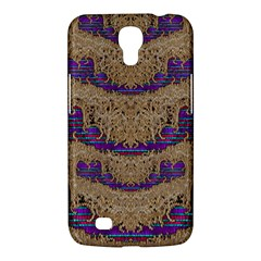 Pearl Lace And Smiles In Peacock Style Samsung Galaxy Mega 6 3  I9200 Hardshell Case