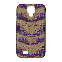 Pearl Lace And Smiles In Peacock Style Samsung Galaxy S4 Classic Hardshell Case (pc+silicone)