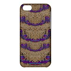 Pearl Lace And Smiles In Peacock Style Apple Iphone 5c Hardshell Case