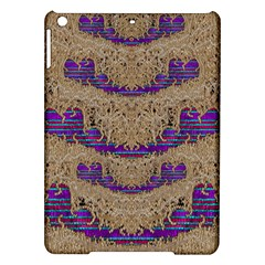 Pearl Lace And Smiles In Peacock Style Ipad Air Hardshell Cases