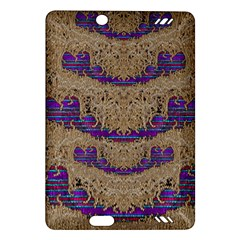Pearl Lace And Smiles In Peacock Style Amazon Kindle Fire Hd (2013) Hardshell Case