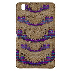 Pearl Lace And Smiles In Peacock Style Samsung Galaxy Tab Pro 8 4 Hardshell Case