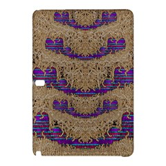 Pearl Lace And Smiles In Peacock Style Samsung Galaxy Tab Pro 12 2 Hardshell Case