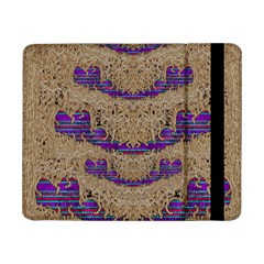 Pearl Lace And Smiles In Peacock Style Samsung Galaxy Tab Pro 8 4  Flip Case