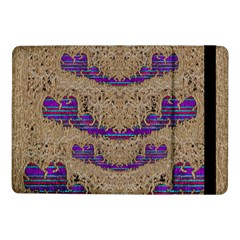 Pearl Lace And Smiles In Peacock Style Samsung Galaxy Tab Pro 10 1  Flip Case
