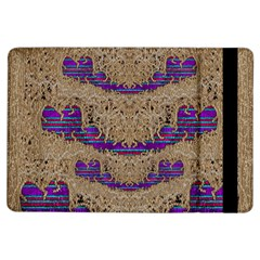 Pearl Lace And Smiles In Peacock Style Ipad Air Flip