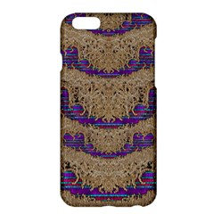 Pearl Lace And Smiles In Peacock Style Apple Iphone 6 Plus/6s Plus Hardshell Case