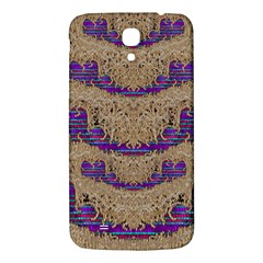 Pearl Lace And Smiles In Peacock Style Samsung Galaxy Mega I9200 Hardshell Back Case