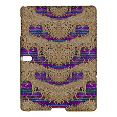 Pearl Lace And Smiles In Peacock Style Samsung Galaxy Tab S (10 5 ) Hardshell Case