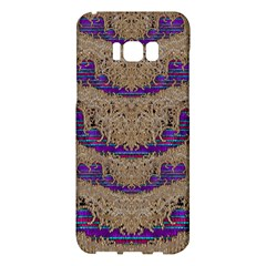 Pearl Lace And Smiles In Peacock Style Samsung Galaxy S8 Plus Hardshell Case