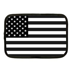 Flag Of Usa Black Netbook Case (medium)
