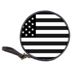 Flag Of Usa Black Classic 20 Cd Wallets