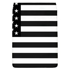 Flag Of Usa Black Flap Covers (s)