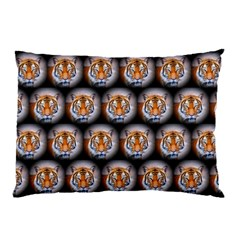 Cute Animal Drops   Tiger Pillow Case (two Sides)