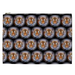 Cute Animal Drops   Tiger Cosmetic Bag (xxl)