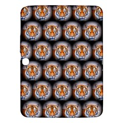 Cute Animal Drops   Tiger Samsung Galaxy Tab 3 (10 1 ) P5200 Hardshell Case