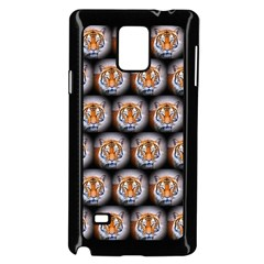 Cute Animal Drops   Tiger Samsung Galaxy Note 4 Case (black)