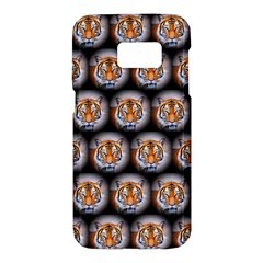 Cute Animal Drops   Tiger Samsung Galaxy S7 Hardshell Case