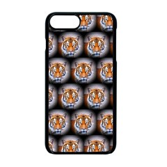 Cute Animal Drops   Tiger Apple Iphone 7 Plus Seamless Case (black)