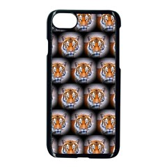 Cute Animal Drops   Tiger Apple Iphone 7 Seamless Case (black)