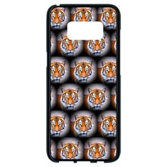 Cute Animal Drops   Tiger Samsung Galaxy S8 Black Seamless Case