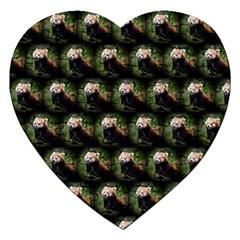 Cute Animal Drops   Red Panda Jigsaw Puzzle (heart)