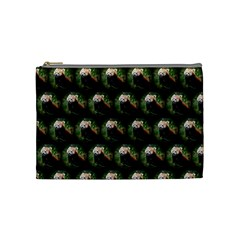 Cute Animal Drops   Red Panda Cosmetic Bag (medium)