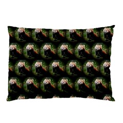 Cute Animal Drops   Red Panda Pillow Case (two Sides)