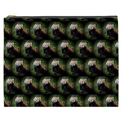 Cute Animal Drops   Red Panda Cosmetic Bag (xxxl)
