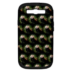 Cute Animal Drops   Red Panda Samsung Galaxy S Iii Hardshell Case (pc+silicone)