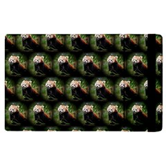 Cute Animal Drops   Red Panda Apple Ipad 2 Flip Case