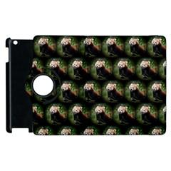 Cute Animal Drops   Red Panda Apple Ipad 3/4 Flip 360 Case