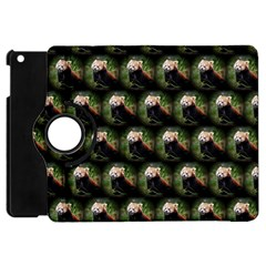 Cute Animal Drops   Red Panda Apple Ipad Mini Flip 360 Case