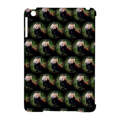 Cute Animal Drops   Red Panda Apple Ipad Mini Hardshell Case (compatible With Smart Cover)