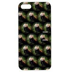 Cute Animal Drops   Red Panda Apple Iphone 5 Hardshell Case With Stand