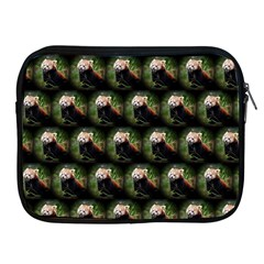 Cute Animal Drops   Red Panda Apple Ipad 2/3/4 Zipper Cases