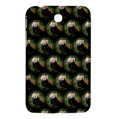 Cute Animal Drops   Red Panda Samsung Galaxy Tab 3 (7 ) P3200 Hardshell Case