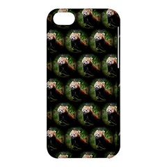 Cute Animal Drops   Red Panda Apple Iphone 5c Hardshell Case