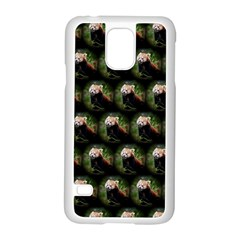 Cute Animal Drops   Red Panda Samsung Galaxy S5 Case (white)