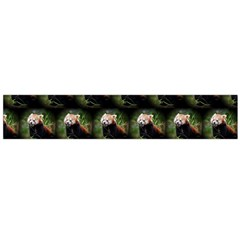 Cute Animal Drops   Red Panda Flano Scarf (large)