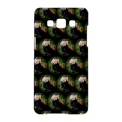 Cute Animal Drops   Red Panda Samsung Galaxy A5 Hardshell Case